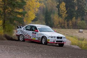The summer season 2021 of the BMW Rally series will be run on MRF tyres